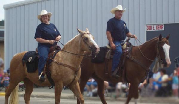 Horsesparade